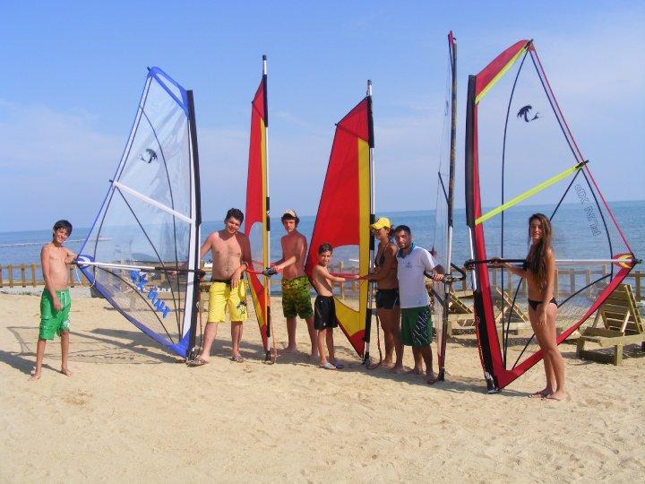 windsurf eğitim yelken
