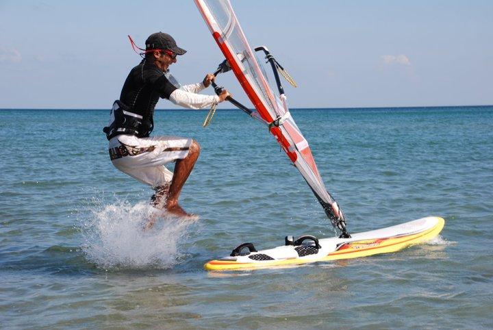 rüzgar sörfü freestyle